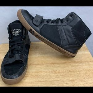 Penguin Mens Size 11.5 Obby High Top Sneakers Lace